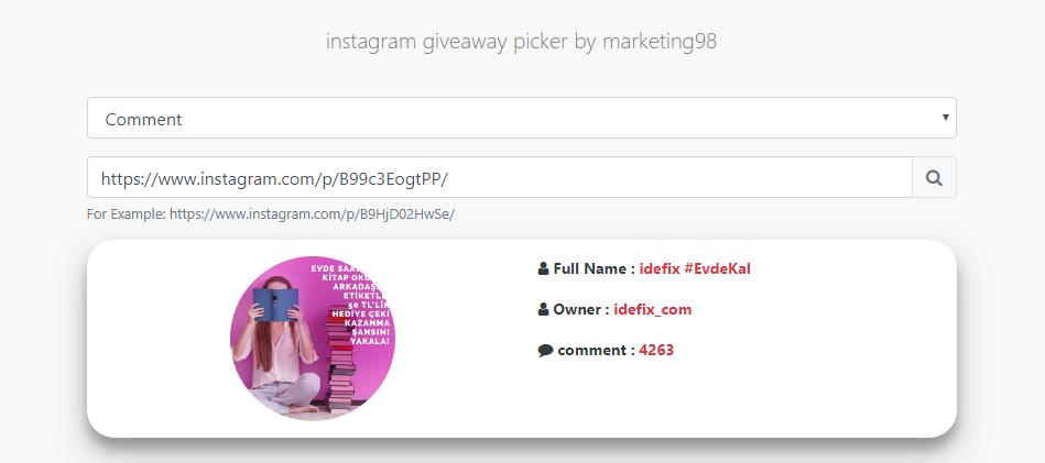 instagram çekiliş yap Instagram Cekilis Sitesi Instagram Cekilis Programi Ucretsiz